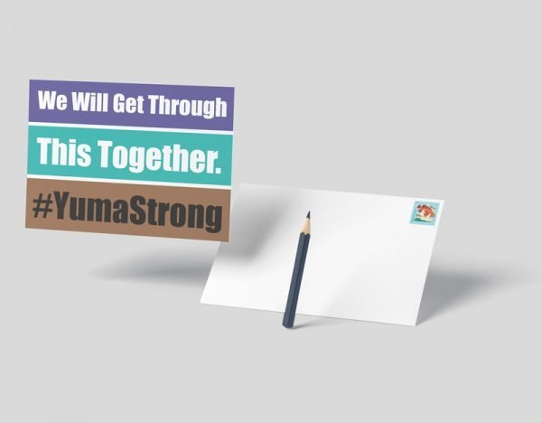 #YumaStrong Postcard
